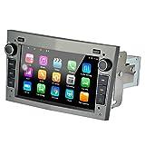 LEXXSON Radio Coche 1 DIN GPS Radio Android 8.1, con Canbus Bluetooth WiFi RDS USB SD Apoyo Enlace Espejo Camara Trasera para Opel Vauxhall/Astra (H)/Antara/Corsa (D)/Vivaro/Meriva/Vectra/Zafira (B)