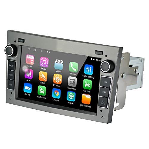 LEXXSON Radio Coche 1 DIN GPS Radio Android 8.1, con Canbus Bluetooth WiFi RDS USB SD Apoyo Enlace Espejo Camara Trasera para Opel Vauxhall/Astra (H)/Antara/Corsa (D)/Vivaro/Meriva/Vectra/Zafi