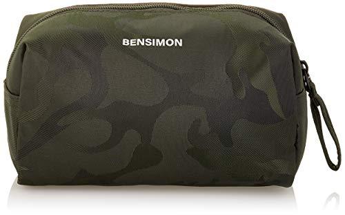 Bensimon Low UTIL Pocket, Camo Sport Donna, Kaki, TU