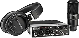 Yamaha Steinberg UR22 MKII Recording Pack with Interface, Cubase, Headphones and Microphone (RP