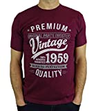 1959 Vintage Year - Aged to Perfection - 60 Ans Anniversaire Homme Cadeaux T-Shirt...