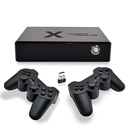 GoolRC Consola de Videojuegos 3D Mini Arcade Consola de Juegos Retro Portátil Incorporada 4080 2D y 150 Juegos 3D compatibles con Salida de HD / VGA / 3,5 mm