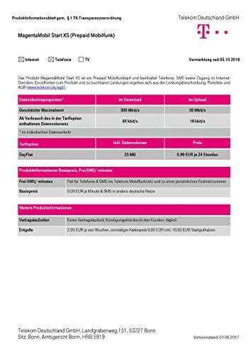 XtraCard Magenta Mobil Start XS 10 Euro Startguthaben (Triple-Sim)