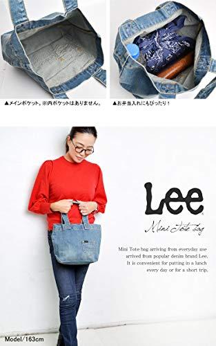 Lee(リー)『デニムミニトートバッグ』