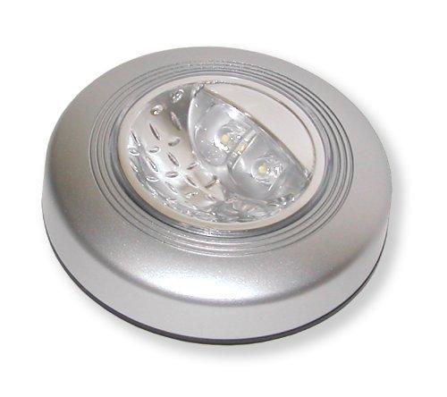 Carson Push Light Zelfklevende ledverlichting, rond