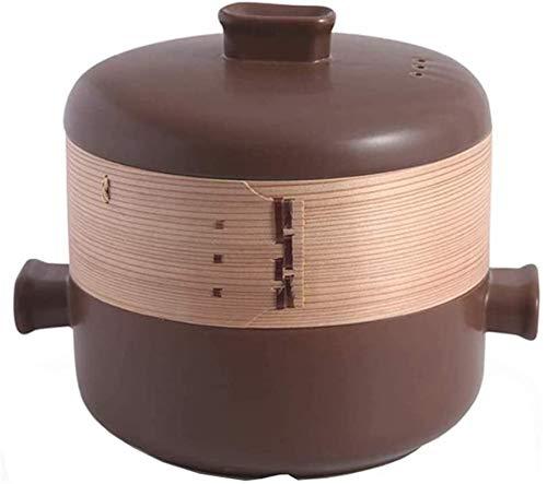 YAOSHUYANG Cazuela de Hierro Stefpan Stefpan Caserole Caserole Stef Pot con Tapa...
