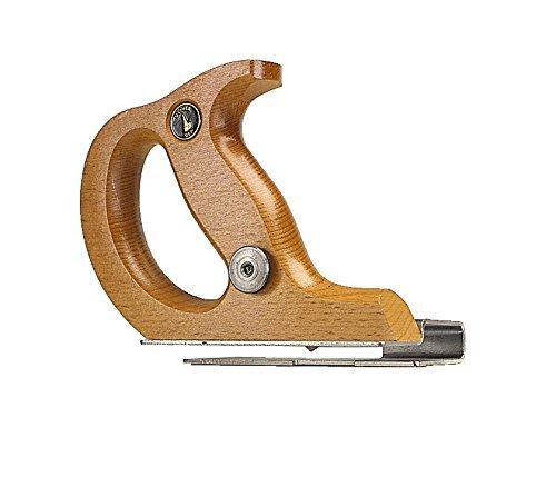 Ulmia 740 Kantenschneider / Kantenbeschneider 740 ~ mit in Höhe und Tiefe verstellbaren Messern, formgefräster, geschlossener Handgriff, verzinkter Spezialanschlag und Sohle ~ Länge: 160 mm