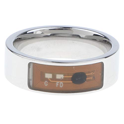 Smart Ring Nfc Magico Indossabile Multifunzione per Telefoni Android Ios - Trasparente US13