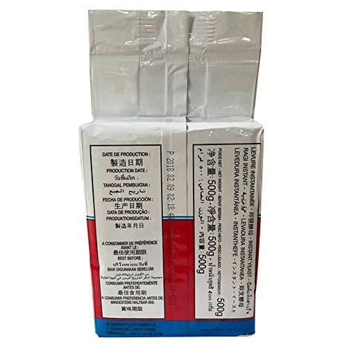 500G Active Instant drooggist, brothefe, hoge glucosetolerantie, voor huishoudelijke keuken, bakaccessoires