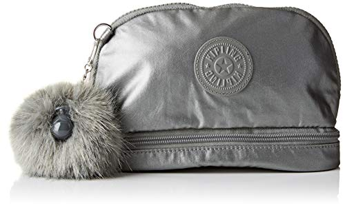 Kipling MULTI KEEPER Organiseur de sac à main, 22 cm, 2.5 liters, Gris (Metallic Stony)
