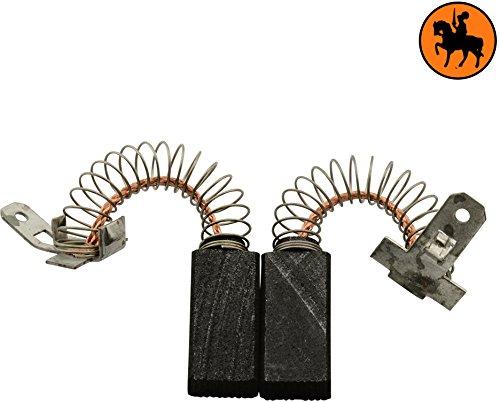 Kohlebürsten für ELU MHB158A Schleifer -- 5x8x16mm -- 2.0x3.1x6.3''