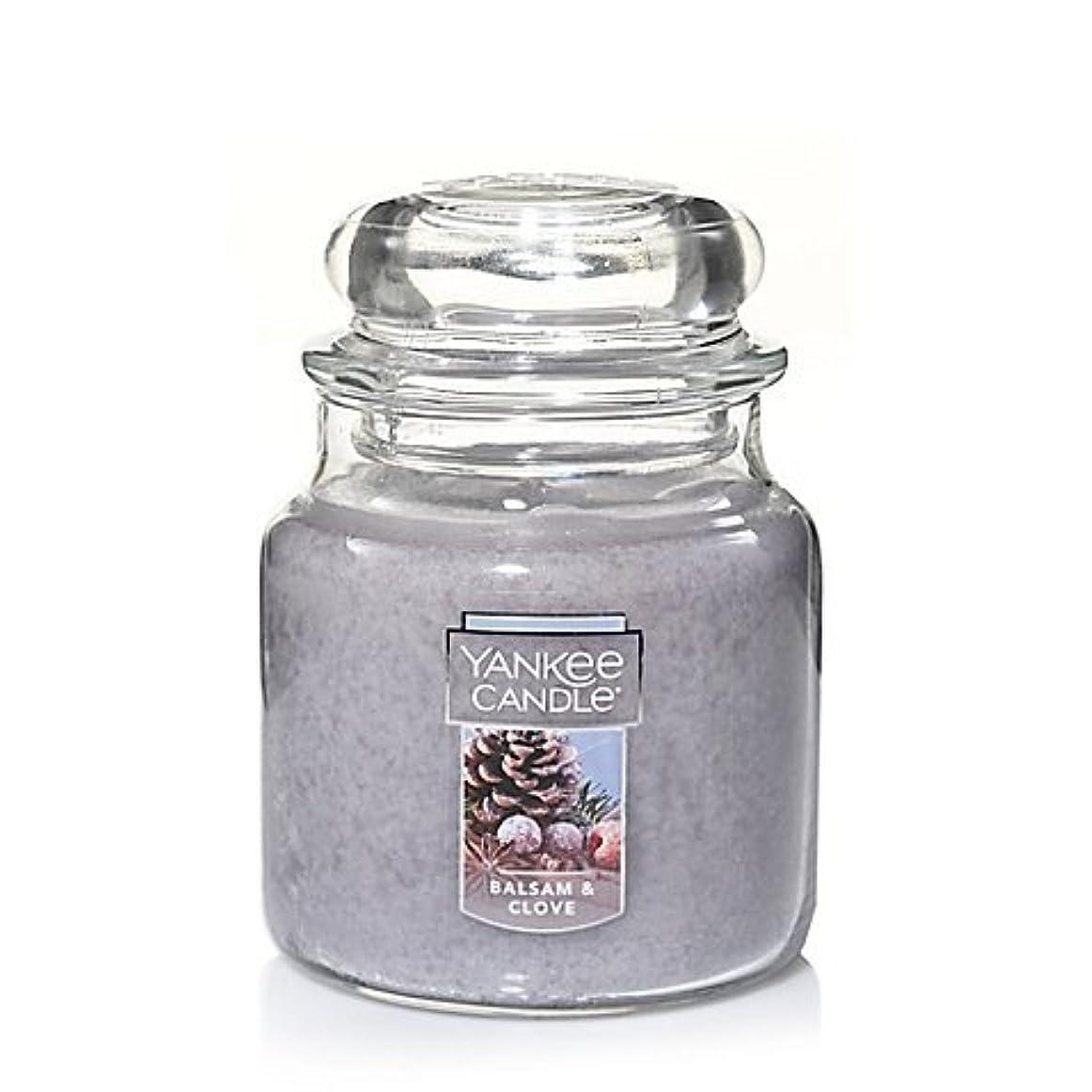 カジュアル無駄に締めるYankee Candle Balsam &クローブSmall Jar Candle