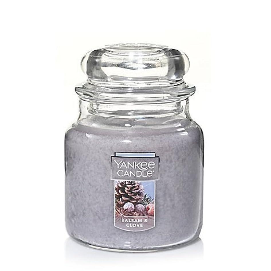 鳩雪細分化するYankee Candle Balsam &クローブSmall Jar Candle