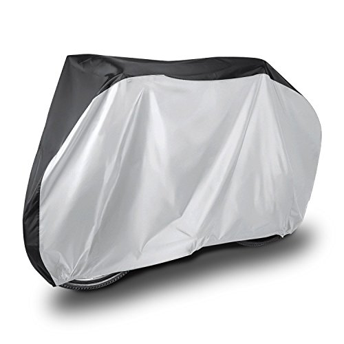 Ruiye Bicycle Cover Waterproof Outdoor, Outside Storage for Bikes, 190T Nylon Heavy Duty All Weather Bike Covers for Mountain, 26er, Road, Hybrid Bikes?Mountain Bikes?Cycling Bike?Scooters