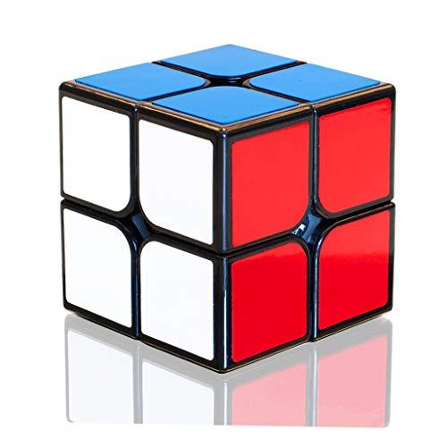 TOYESS Cubo di Magico 2x2, Speed Cube 2x2x2 Giocattolo Regalo Confezione per Bambini e Adulto, Nero