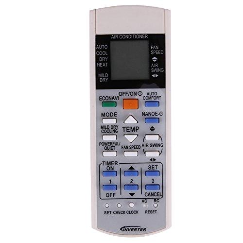 Domybest Fernbedienung für Klimagerät, Fernbedienung für Klimagerät Panasonic a75c3208 a75c3706 a75c3708