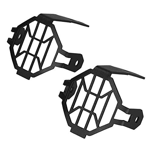 GSDGBDFE Fit Lights Fit para BMW R1200GS LC R 1250GS R1250GS F800GS GSR1200 F850GS F750GS ADV R 1200 GS Motorcycle Light Guards Funda (Color : Black Cover)