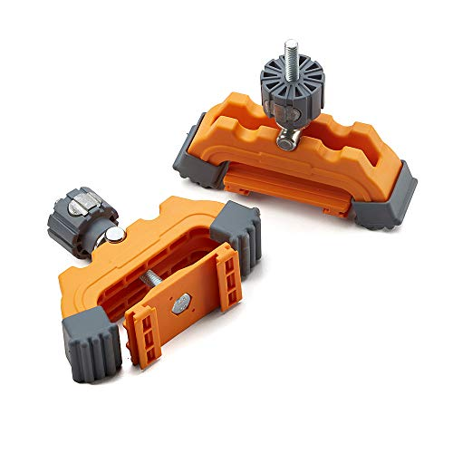 Bora Saw Guide System Track Clamps – Two Pack, Use to Cut Any Angle with the Bora WTX and NGX Saw Guide Systems, Saw Guide Accessory for Woodworkers, DIYers, Carpenters, 542011