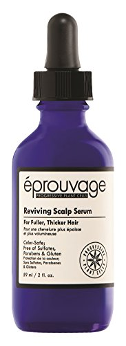 Éprouvage Reviving Scalp Serum – For Thicker, Fuller Hair – Color-Safe, Free of Sulfates, Parabens & Gluten – 2 Fl. Oz.