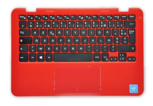 Dell Inspiron 11 3000 Series (3162) Handauflage mit französischer Tastatur, Rot