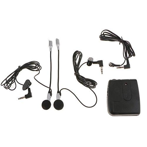 Auriculares Intercomunicador Interphone Mano Libre para Casco Moto Motocicleta Entrada Mp3