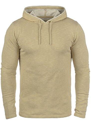 Redefined Rebel Murray Herren Strickpullover Kapuzenpullover Feinstrick Pullover Mit Kapuze Aus 100% Baumwolle, Größe:L, Farbe:Sand