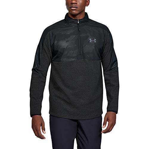 Under Armour ColdGear Infrarot 1/2 Zip Sweatshirt T-Shirt, Black, 3XL pour Hommes