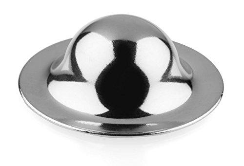 Zinnhütchen Stillhütchen Wunde Brustwarzen Stillen 1 Stück aus 99,9% Reinzinn