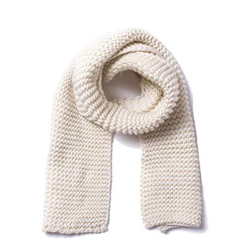 Yxr - Babero de punto para hombre y mujer, de lana gruesa hecha a mano