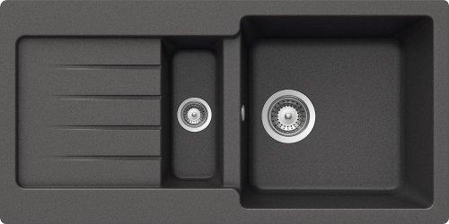 Schock Küchenspüle Typos D-150S, Auflage in Inox