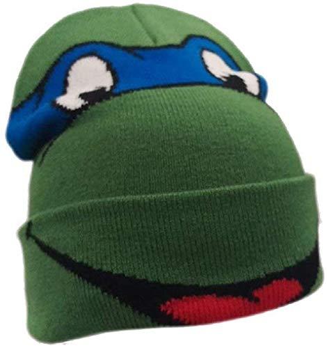Teenage Mutant Ninja Turtles - Leonardo - Offiziell Junior Beanie (Hut, Kappe) - Grün, One Size