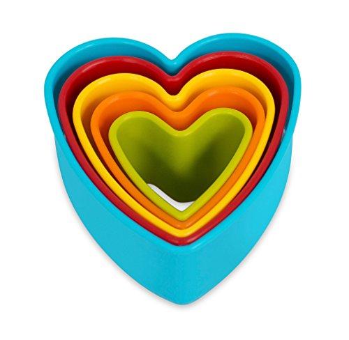 Heart Cookie Cutter - Set of 5