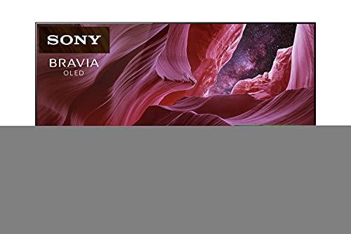 Sony KE-65A8/P Bravia 164 cm (65 Zoll) Fernseher (Android TV, OLED, 4K Ultra HD (UHD), High Dynamic Range (HDR), Smart TV, Sprachfernbedienung, 2021 Modell) Schwarz [Exklusiv bei Amazon]