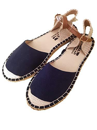 Sandalen Sandaletten Damen Stoffsandalen Espadrillo Sohle Gr. 37-41, Größe: EUR 41