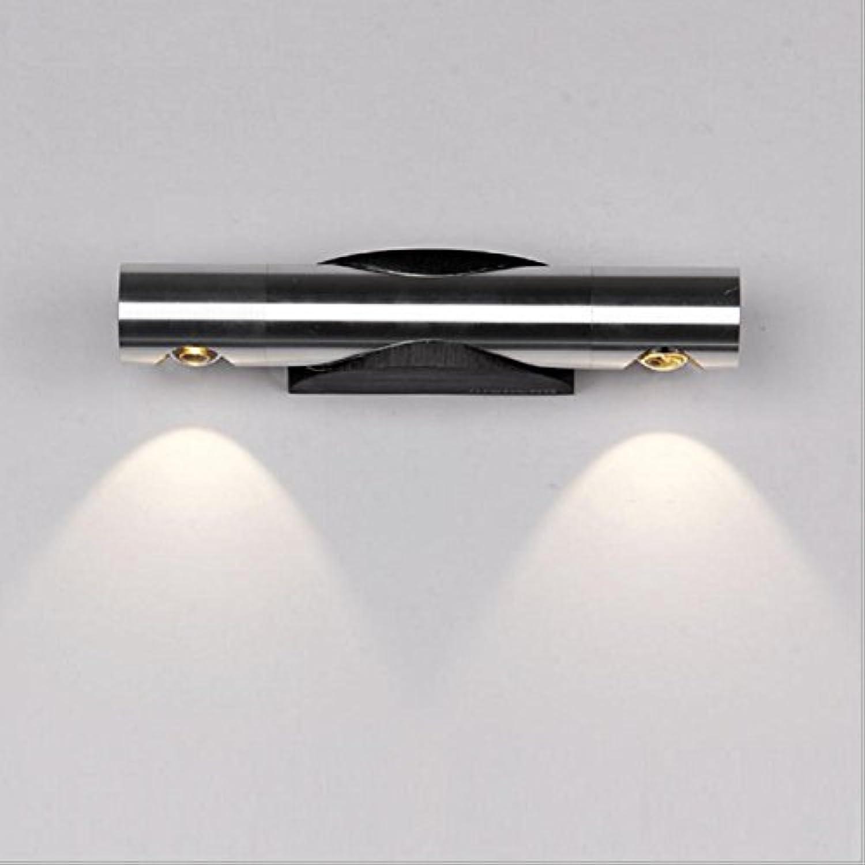 DENG LED Wandleuchte Bedside Modern Einfache kreative Wohnzimmer Treppenhaus Aisle Aluminium Lampe