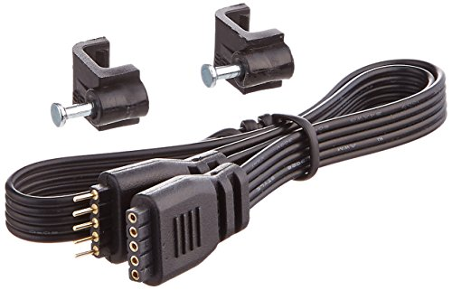 WAC Lighting LED-TC-IC12 12-Inch Joiner Cable for 24V InvisiLED