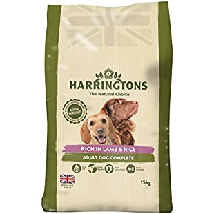 Customer reviews Harrington's Dog Food Complete Lamb and Rice Dry Mix, 15 kg
