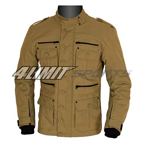 4LIMIT Sports Motorradjacke GENTLEMAN Outdoor Textil Jacke braun