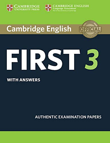 Cambridge English First 3. Student's Book with answers