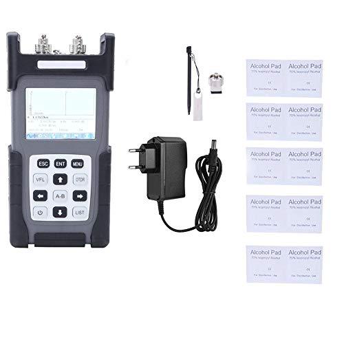 OTDR Optical Fibre Ranger, JW3302B-US Mini-OTDR-Reflektometer-Tester für optische Glasfaser-Fehlersuche(EU-Stecker)