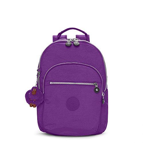 Kipling Seoul Ladies Small Tile Purple Nylon Casual Daypack BP-4170
