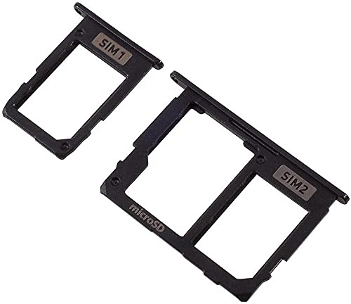 Compatibile per SAMSUNG GALAXY J330 J330F (J3 2017) J530 J530F (J5 2017) J730 J730F (J7 2017) Try Vassoio alloggio porta scheda Sim1 Sim2 + SLOT SLITTA Memoria Micro Sd