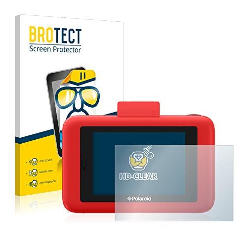 BROTECT Protector Pantalla Compatible con Polaroid Snap Touch Protector Transparente (2 Unidades) Anti-Huellas