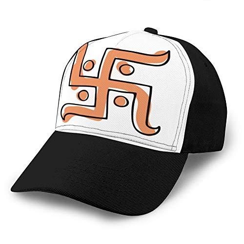 LINMIO1 Men's Vintage Dad Cowboy Hat Adjustable Baseball Cap xuxuxun Symbol Hand Drawn