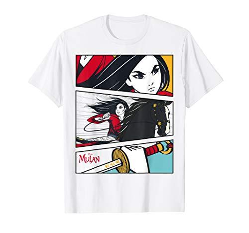 Disney Mulan Comic-Style T-Shirt   Best Gifts for Mulan Fans