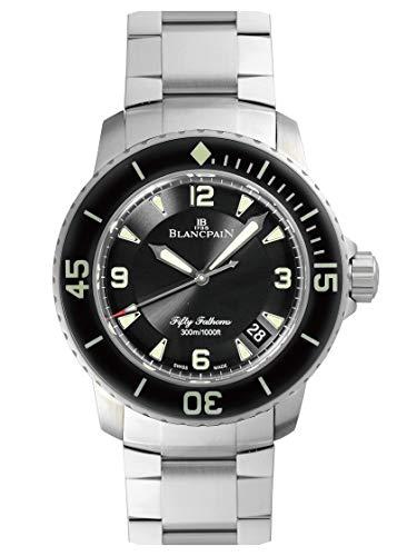 [ブランパン] BLANCPAIN 腕時計 5015-1130-71S フィフティ ファゾムス オートマティック SSブレス 新品 [並...