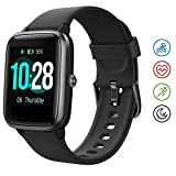 Hafury Smartwatch Tracker Fitness Orologio 1.3 Pollici Display touchscreen Donna Uomo Bambini IP...