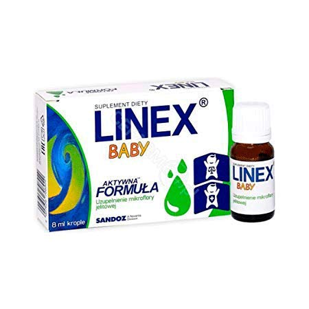 LINEX Baby Probiotic Drops biogaia -Baby (children) Colic,Diarrhoea,Constipation