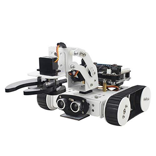 WXJHA Intelligent Education Kit, DIY Micro: Bit Roboter-Bausatz Microbit Programmierbare Roboter-Intelligentes Spielzeug Für Jungs Einfach Zu Bedienen, Flexibel & Conven
