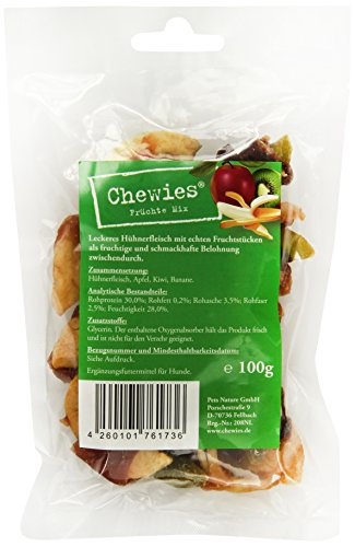 Chewies Hundeleckerli Früchte - 1 x 100 g